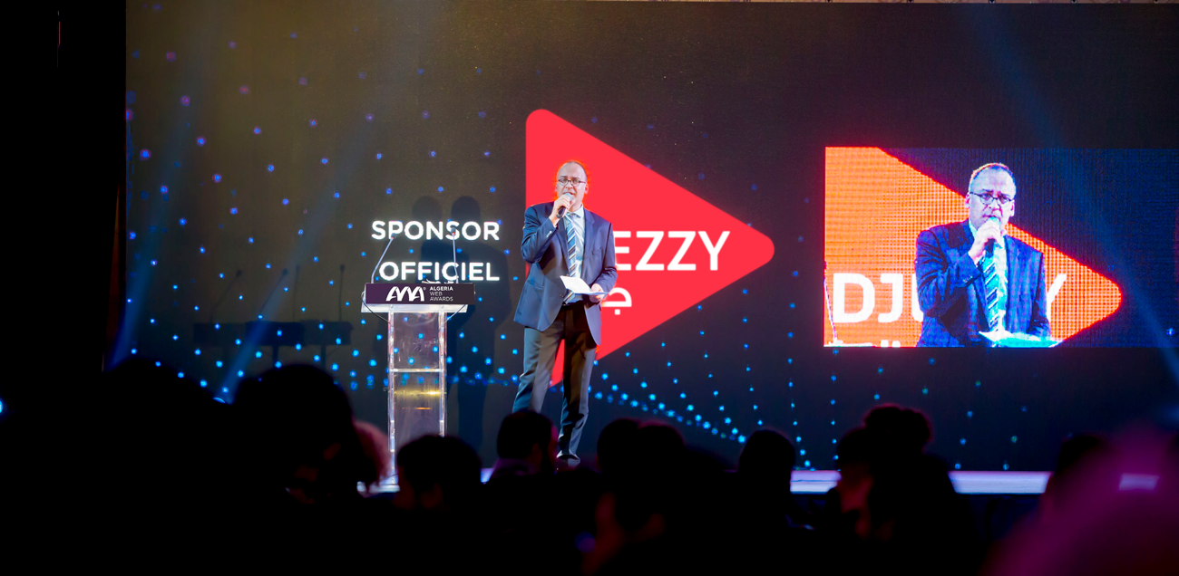 Djezzy aux Algeria Web Awards