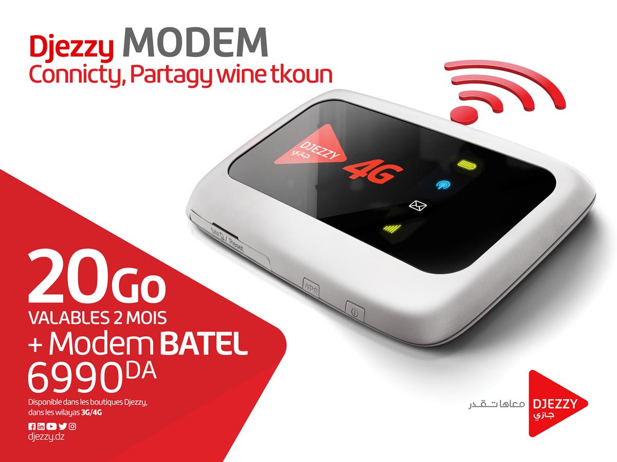 Djezzy Modem 4G