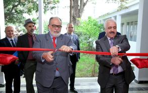 Inauguration de l'incubateur au niveau de l'école national polytechnique (ENP)