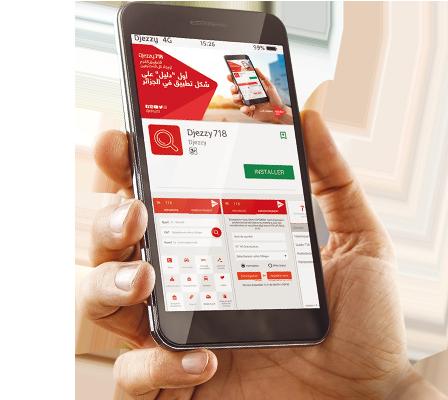 Téléchargez dès maintenant l'app Djezzy 718