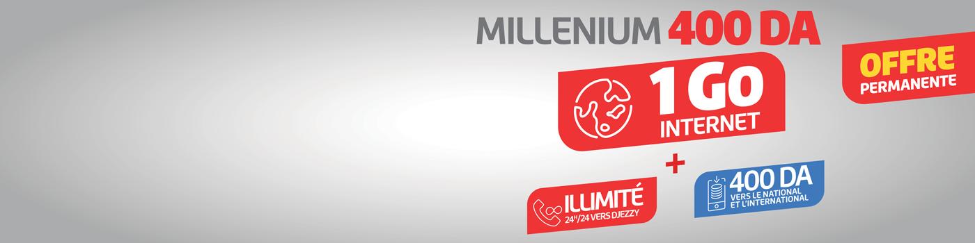 Offre Millenium 400 - VF