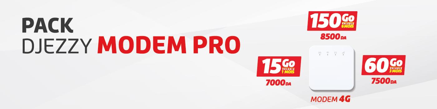 Pack Djezzy Modem Pro 23-02-2020