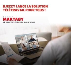 DJEZZY MAKTABY : Travaillez chez vous comme si vous étiez au bureau !