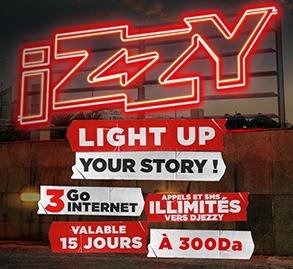 إكتشفوا العرض 300 iZZY الجديد..
